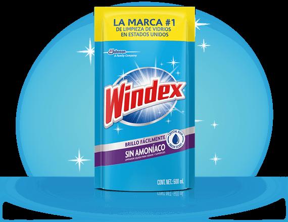 Productos de limpiador de vidrio Windex